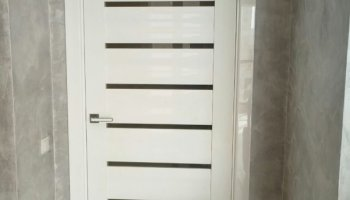 Установка межкомнатных дверей Профиль Дорс фото Серия L
